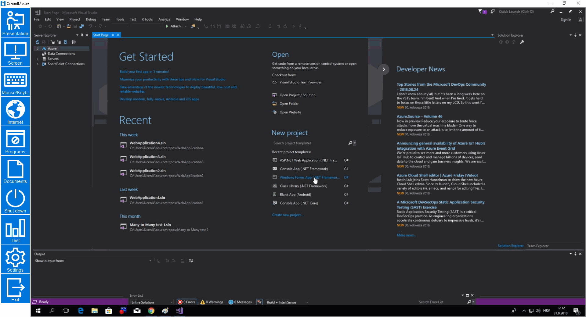 Monitor single computer